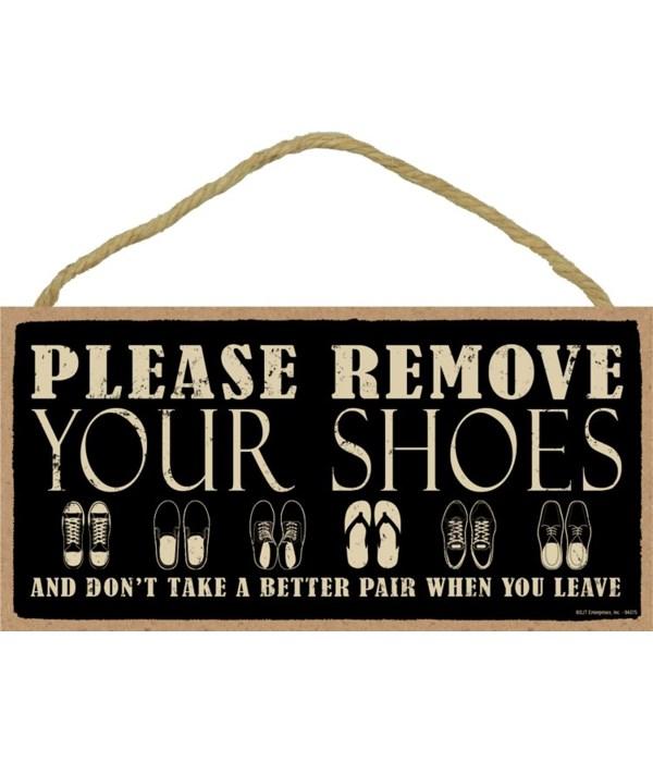 Please remove your shoes Primitive 5x10
