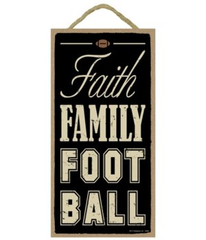 Faith Family Football 5x10