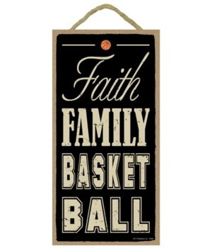 Faith Family Basketball 5x10