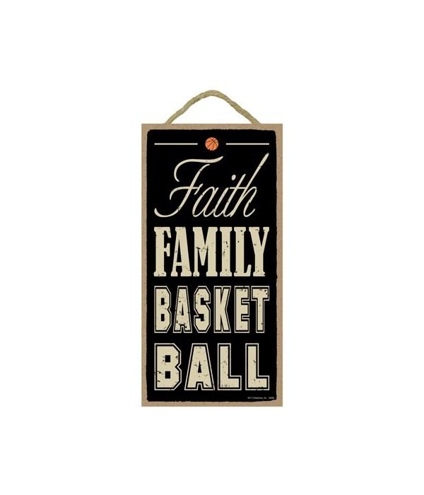 Faith Family Basketball 5x10