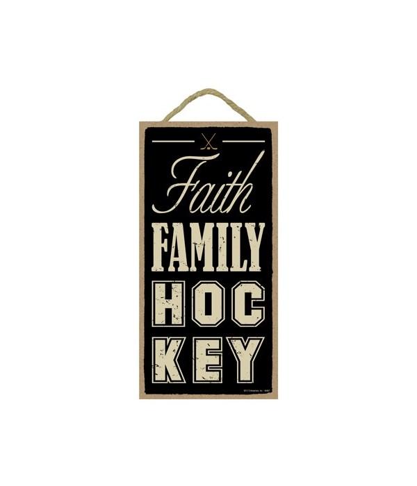 Faith Family Hockey 5x10