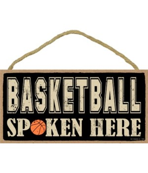 Basketball spoken here 5x10