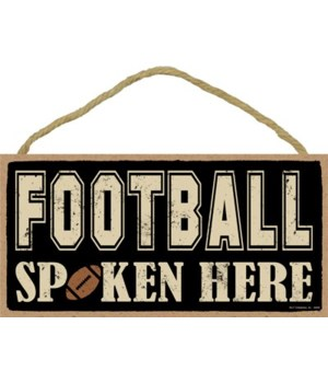 Football spoken here 5x10