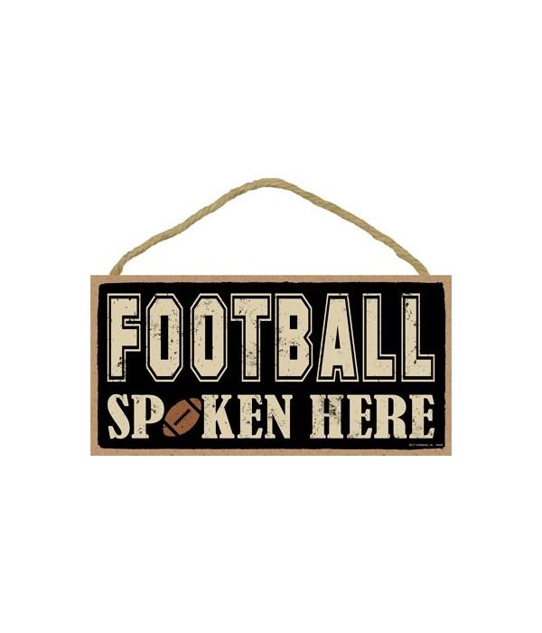 Football spoken here 5x10