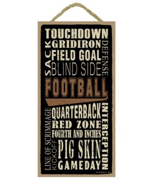 Football (word art) 5x10