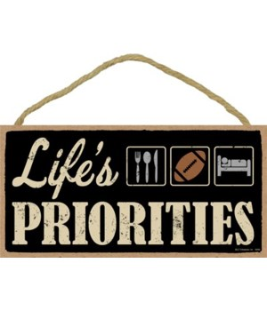 Life's priorities (football) 5x10