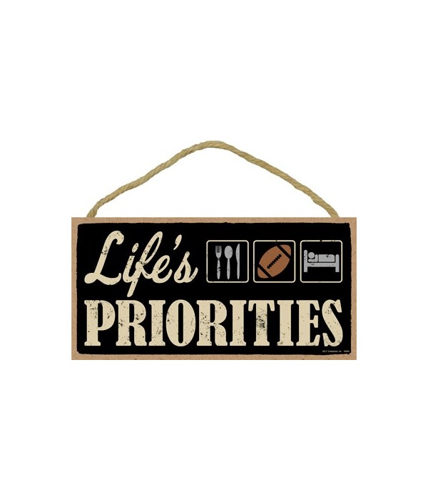 Life's priorities (football) 5x10