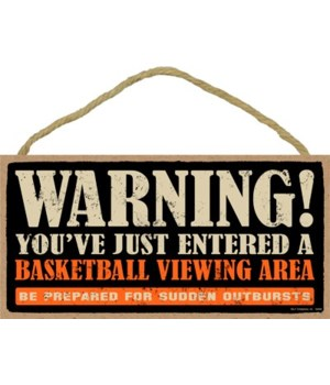 Warning! You've just entered a (basketba