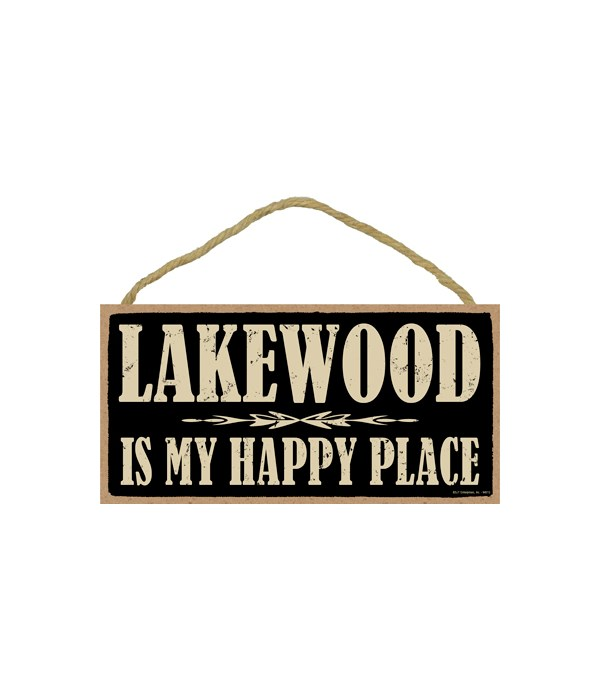 Lakewood, WI is My happy place
