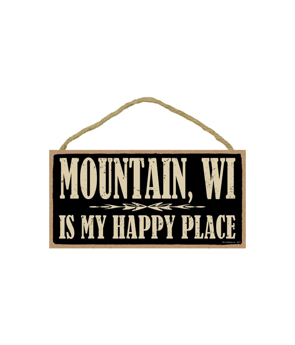 Mountain, WI is My happy place