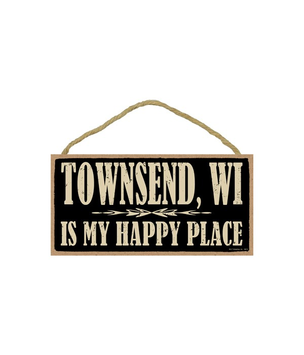 Townsend, WI is My happy place