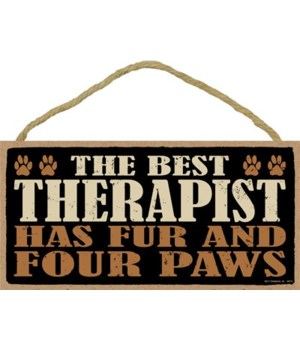 The best therapist has fur and four paws