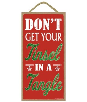 Don't get your tinsel in a tangle 5x10