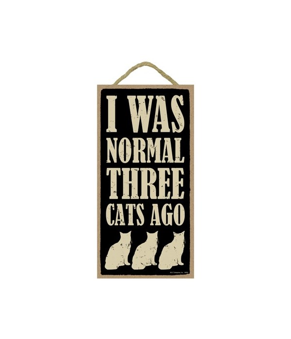 I was normal three cats ago (silhouettes
