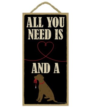 All you need is love and a dog (heart dr