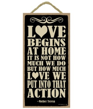 Mother Teresa - Love begins at home