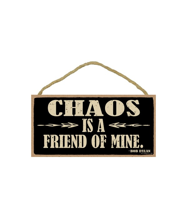 Bob Dylan - Chaos is a friend of mine