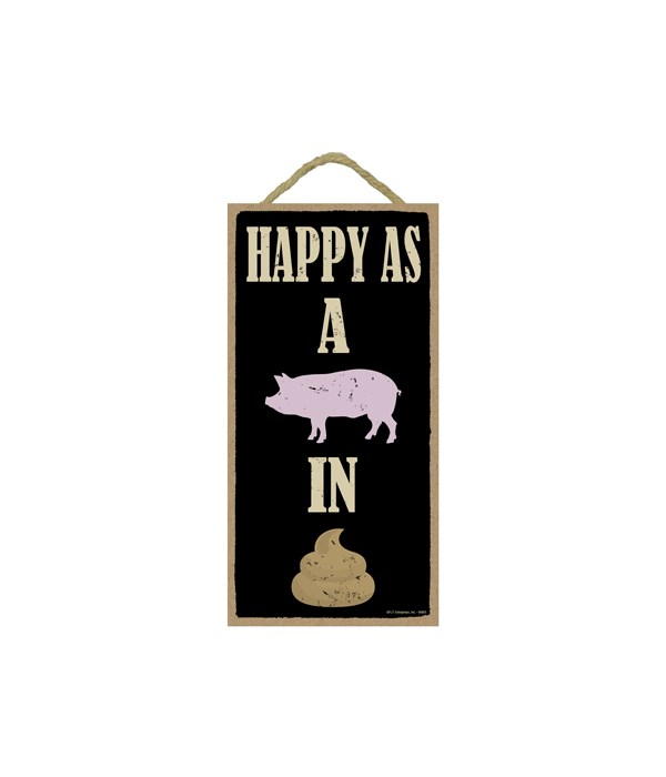 5x10 Happy as a pig in shit (icons)