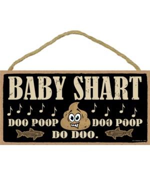 """5x10 Baby Shart """"Doo poop - Doo poop - D"""