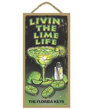 Livin' the Lime Life - with a margaritta