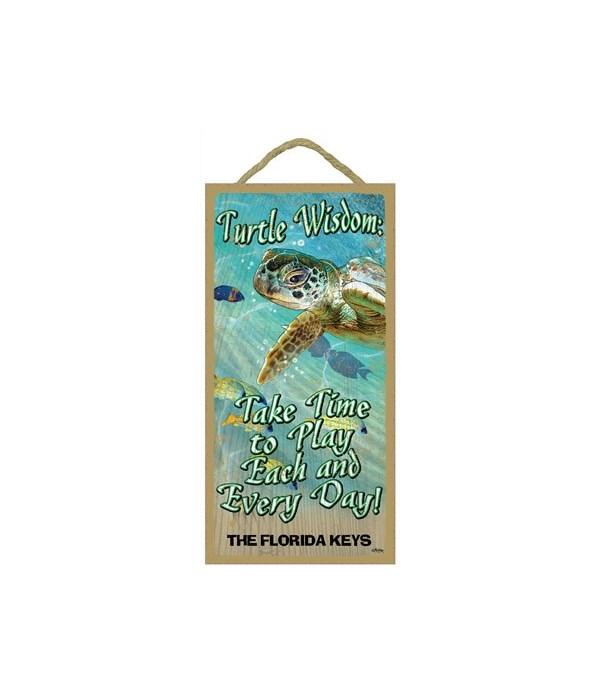 Turtle Wisdom 5x10
