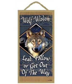 Wolf Wisdom 5x10