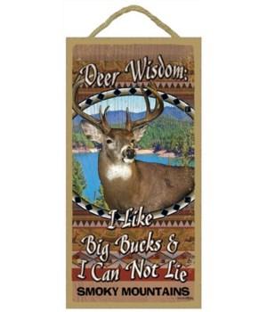 Deer Wisdom 5x10