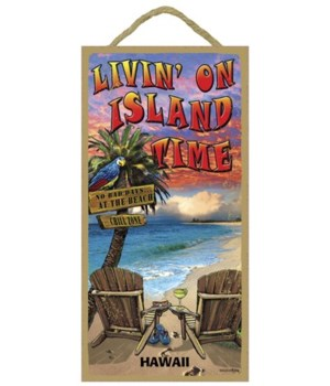 Livin' on island time - with beach chair