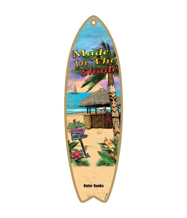 Made in the shade - with a beach scene S