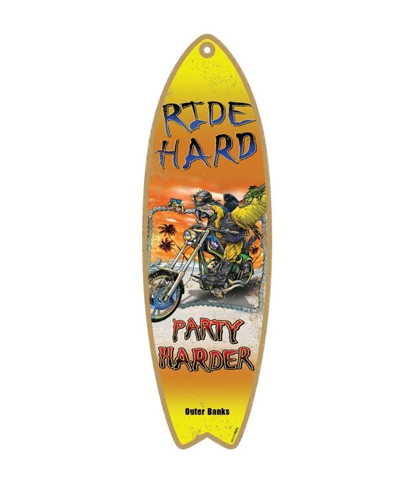 RideHard Surfboard