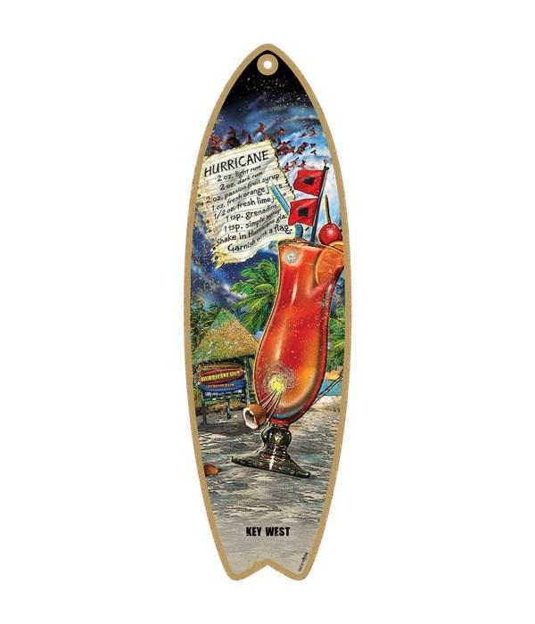 Hurricane drink recipe Surfboard
