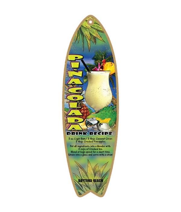 Pina colada drink recipe Surfboard
