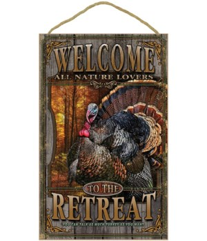Turkey welcome 10x16 sign