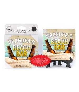 Grandpa's Manly Beach Coaster