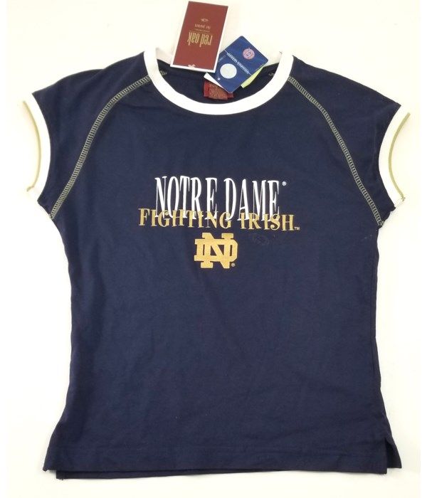 Notre Dame Junior top