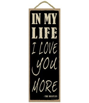 In my life I love you more (The Beatles)