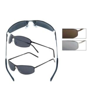Metal Wire Sunglasses - Men's