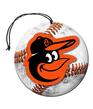 AIR FRESHENER - BALTIMORE ORIOLES