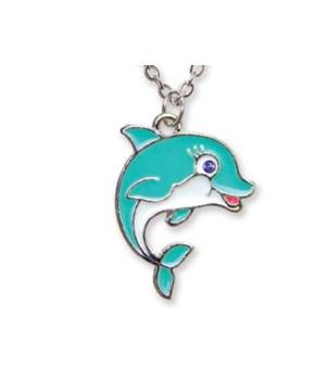 Dolphin Pendant w/Box 6PC