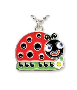 Ladybug Pendant w/Box 6PC