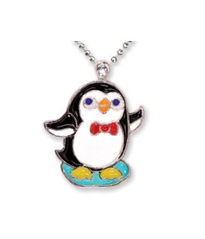 Penguin Pendant w/Box 6PC