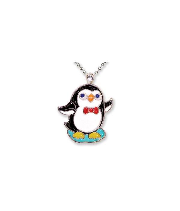 Penguin Pendant w/Box 6PC