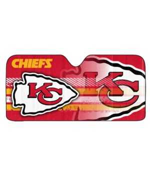 AUTO SUNSHADE - KC CHIEFS - UNIVERSAL
