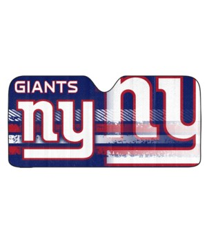 AUTO SUNSHADE - NY GIANTS - UNIVERSAL