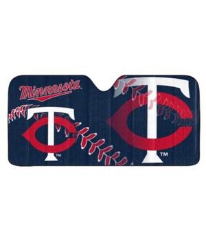 Minnesota Twins Auto Sunshade