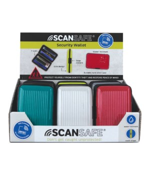 ScanSafe Security Wallet 24PC