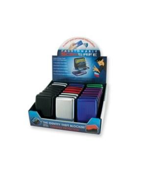 Scansafe wallet 24 pc display