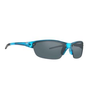 Plastic sports wrap sunglasses