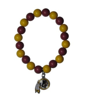 BEAD BRACELET - WASH REDSKINS