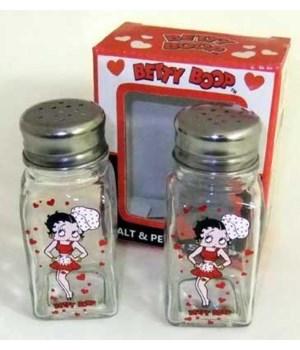 BOOP SALT & PEPPER SHAKER GLASS